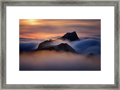 Storskiva Framed Print