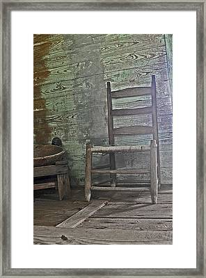 Story Chair Framed Print by Cheri Randolph