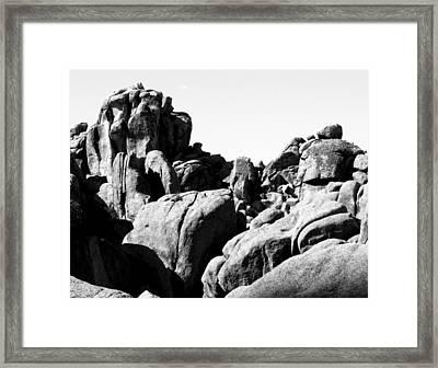 Story Told By The Rocks Framed Print by Carolina Liechtenstein