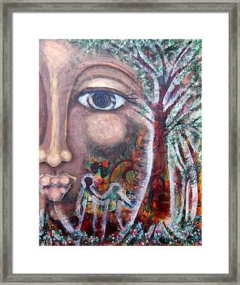 Storyboard 1 Framed Print by Wendy Hassel