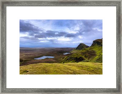 Storybook Beauty Of The Isle Of Skye Framed Print by Mark E Tisdale