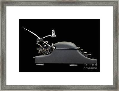 Storyteller Framed Print by Dan Holm