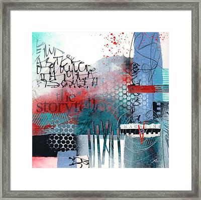 Storyteller Drama Framed Print by Laura  Lein-Svencner