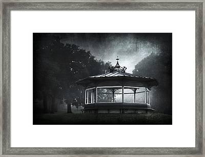Storytelling Gazebo Framed Print by Svetlana Sewell