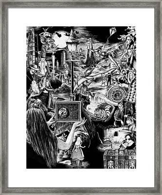 Storytime Framed Print by Ashley Dennison
