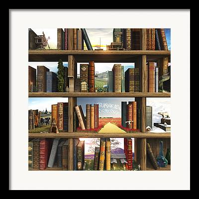 Books Framed Prints