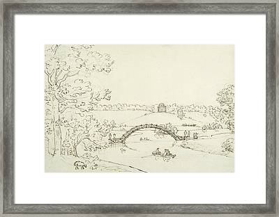 Stourhead Framed Print by Coplestone Warre Bampfylde