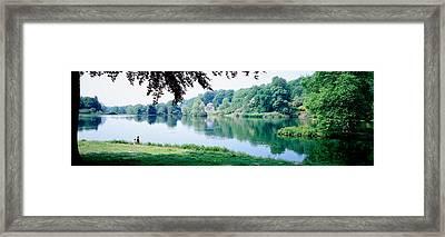 Stourhead Garden, England, United Framed Print