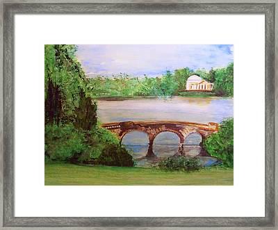 Stourhead Gardens  Framed Print by Rick Todaro