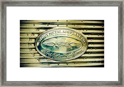 Stout Metal Airplane Co. Emblem Framed Print