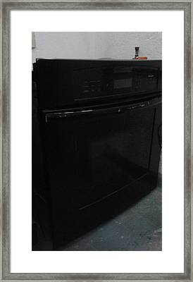Stove Framed Print by Unique Consignment