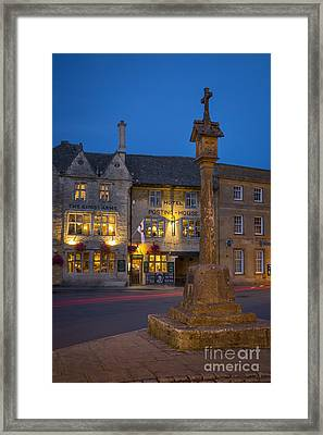 Stow On The Wold - Cotswolds Framed Print by Brian Jannsen