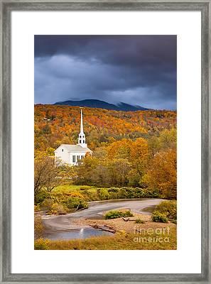 Stowe Church Framed Print by Brian Jannsen
