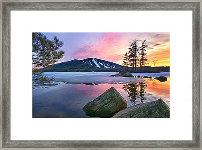 St.patty's Day Sunset Framed Print