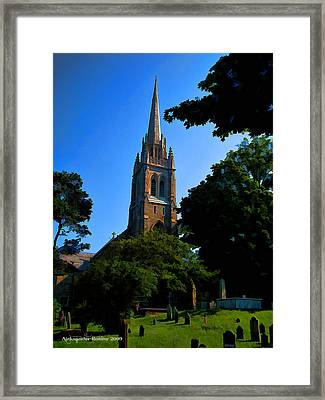 St.paul Framed Print by Aleksander Rotner