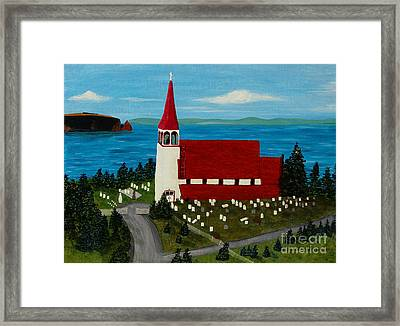 St.philip's Church 1999 Framed Print by Barbara Griffin