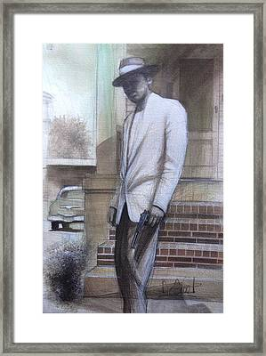 Str8 Gangster Framed Print