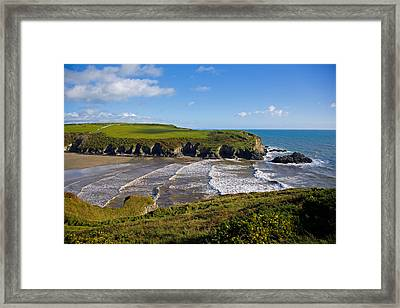 Stradbally Strand, The Copper Coast Framed Print by Panoramic Images