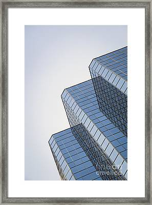 Straight Across My Mind Framed Print by Evelina Kremsdorf