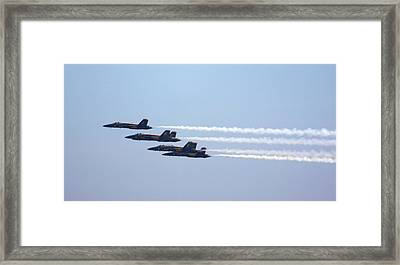 Straight Away Framed Print by French Toast
