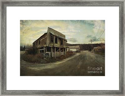 Straits Auction House Framed Print by Priska Wettstein