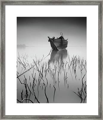 Stranded Again Framed Print