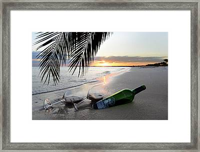 Lost In Paradise Framed Print by Jon Neidert