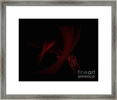 Strands  Of Time Framed Print by Amanda Collins