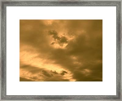 Strange Atmosphere Framed Print
