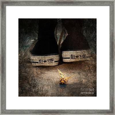 Strange Cold Feeling Framed Print