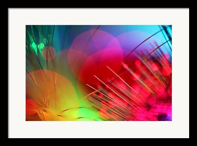 Multicolor Abstract Framed Prints