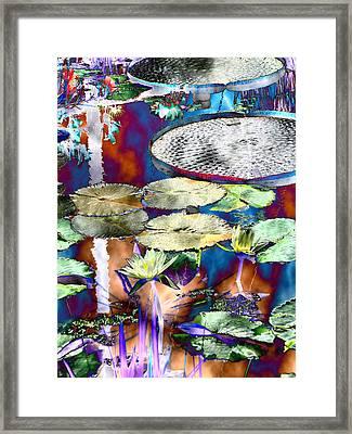 Strange Daze Framed Print by Bobbie Barth