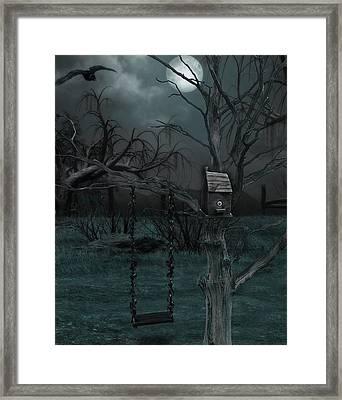 Strange Eyedea Framed Print
