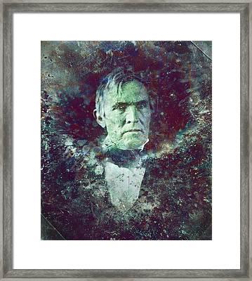 Strange Fellow 2 Framed Print by James W Johnson