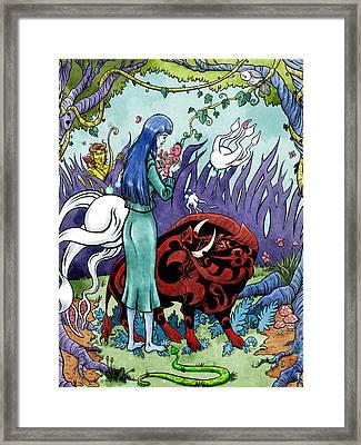 Strange Fruit Framed Print by Baird Hoffmire