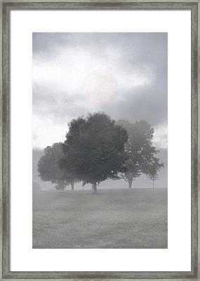 Framed Print featuring the photograph Strange Moon by Ben Kotyuk