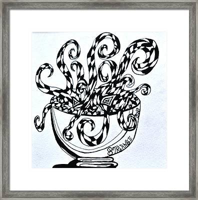 Strange Soup Framed Print by Beverley Harper Tinsley