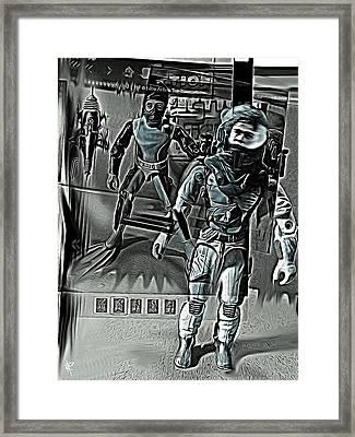Stranger In A Strange Land Framed Print