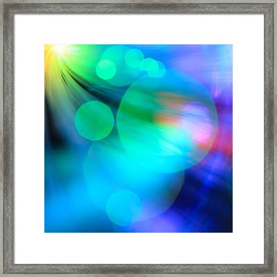 Framed Print featuring the photograph Strangers In The Night by Dazzle Zazz