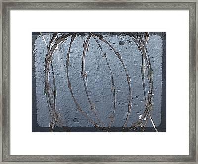 Stranglehold Framed Print by Tim Allen