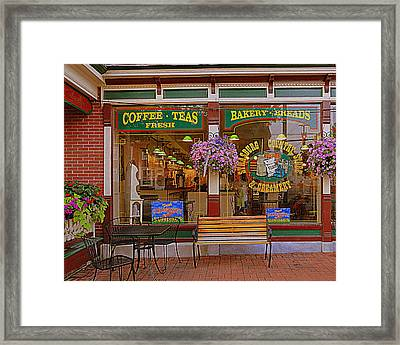 Strasburg Country Store Framed Print by Mary Beth Landis