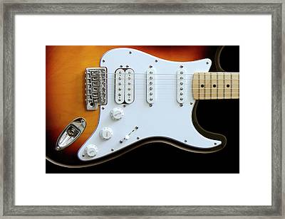 Electric Guitar 1 Framed Print by Mike McGlothlen