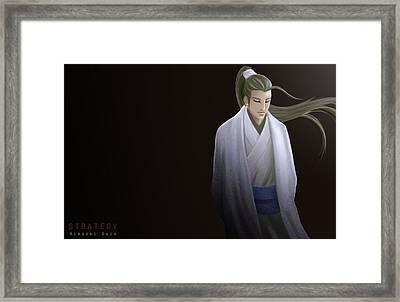 Strategy Ver.b Framed Print by Hiroshi Shih