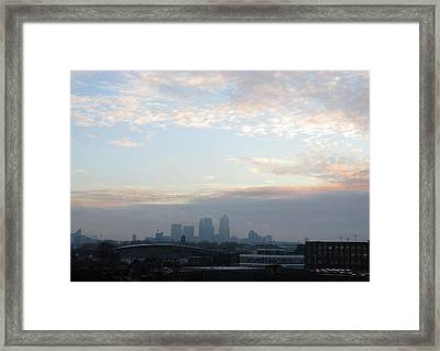 Framed Print featuring the photograph Stratford 1 by Helene U Taylor