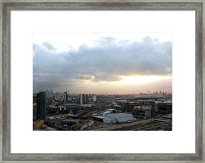 Framed Print featuring the photograph Stratford 2 by Helene U Taylor