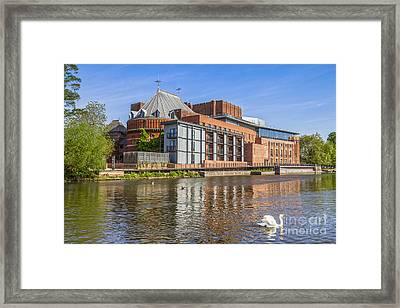 Stratford Upon Avon Royal Shakespeare Theatre Framed Print by Colin and Linda McKie