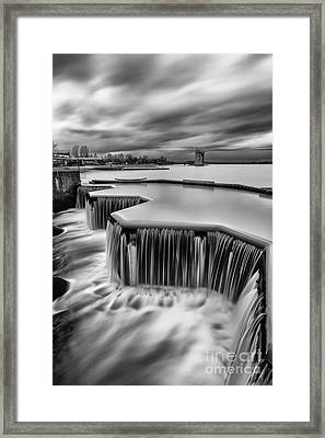 Strathclyde Park Weir Framed Print by John Farnan