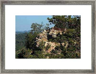Stratobowl Overlook Framed Print