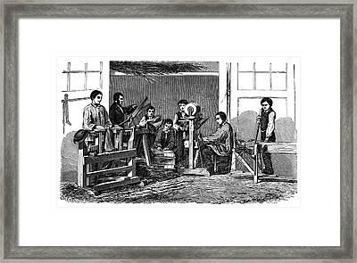 Straw Weavers Framed Print by Science Photo Library