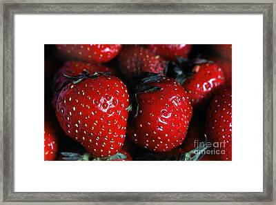 Strawberries 1 Framed Print